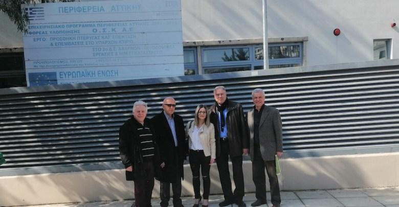Επίσκεψη Γ. Σγουρού στον Δήμο Αχαρνών – «Διεκδικούμε το δικαίωμα για ασφαλείς πόλεις για όλους»