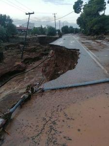 Εικόνες καταστροφής στην Κινέττα