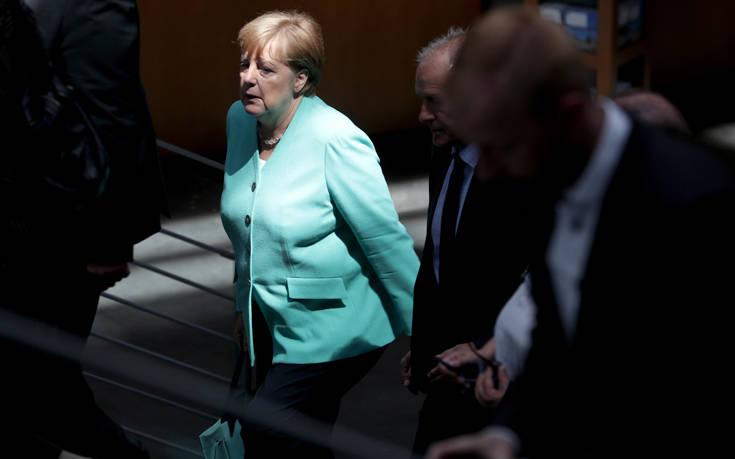 «Πράσινο φως» για το Brexit αναμένει η Άνγκελα Μέρκελ