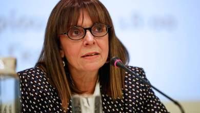 Πρόεδρος της Δημοκρατίας με 261 ψήφους εξελέγη η Αικ. Σακελλαροπούλου