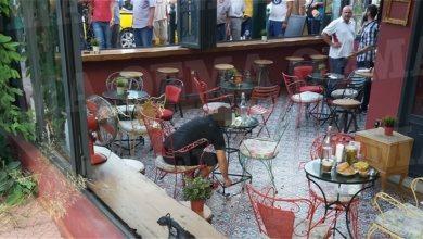 Καρέ καρέ η δολοφονία του Κούρδου σε καφετέρια στο Περιστέρι [Βιντεο]