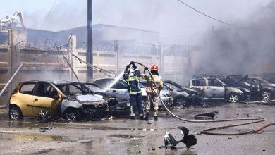 Ζημιές σε 15 αυτοκίνητα απο την έκρηξη στον Ασπρόπυργο - Φωτο