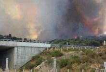 Φωτιά στη Ζήρια Αχαΐας - Εκκενώνονται οικισμοί