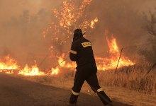 Σε κατάσταση έκτακτης ανάγκης ο δήμος Αχαρνών μετά τη φωτιά