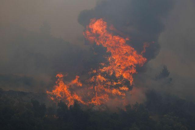 Φωτιά στην Αττική: Εκρηκτικός μηχανισμός στην Πάρνηθα, προσήχθη ύποπτος