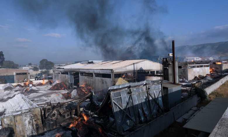 Φωτιά στον Ασπρόπυργο: Οι πρώτες εικόνες από την καταστροφή
