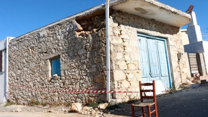 Νέα σεισμική δόνηση 5,4 βαθμών στην Κρήτη