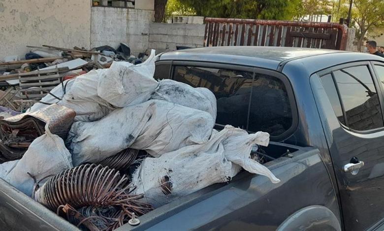Ασπρόπυργος: έκλεψαν πάνω 600 κιλά χαλκού