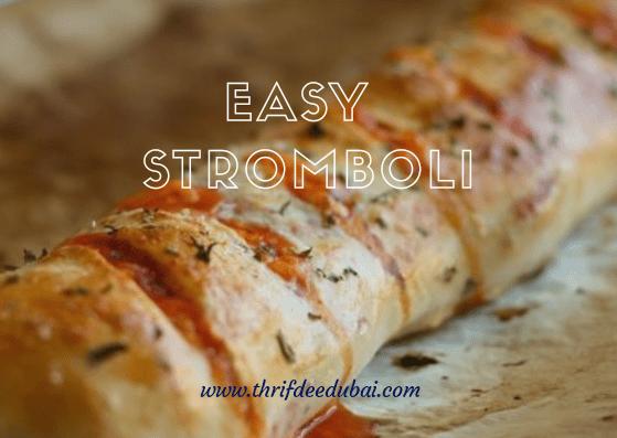 Easy Stromboli Italian Pizza