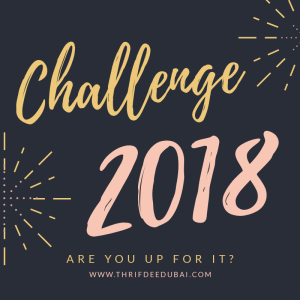 Challenge Thrifdeedubai 2018