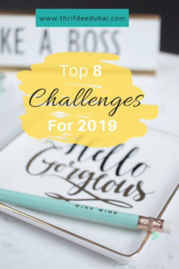 2019 Top Challenge New Year New Me Change Your Life Up Your Game