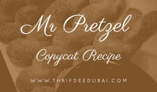 Mr Pretzel Copycat Recipe Cinnamon Dessert ThrifDeeDubai