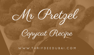 Mr Pretzels – Copycat Recipe