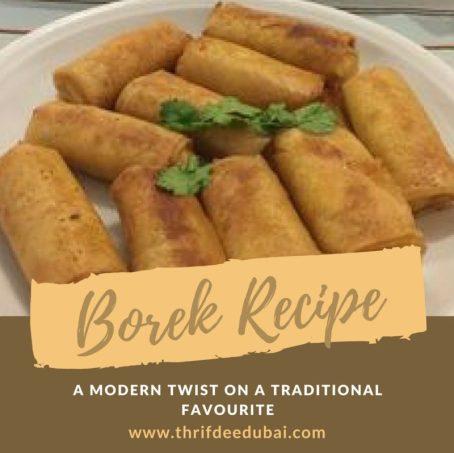 Borek Recipe Tradtional North African Algerian Moroccan Tunisian Brik Somosa Phylio Pastry Ramadan Recipe