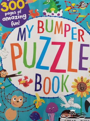 Bumper Activity Book Puzzle Kids Parenting Busy Book thrifdeedubai