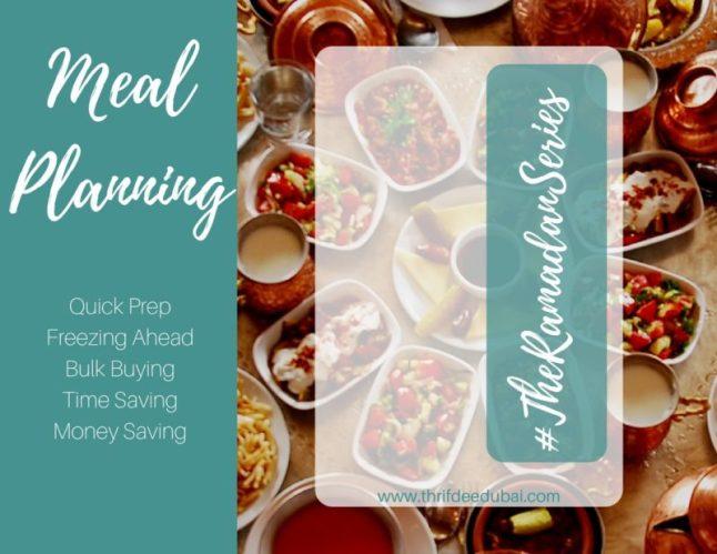 Meal Planning Money Saving Ramadan Tips Recipes Kitchen Prep Ramadan Series thrifdeedubai