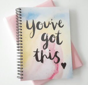 You've got this motivational stationary notebook students exams stress thrifdeedubai