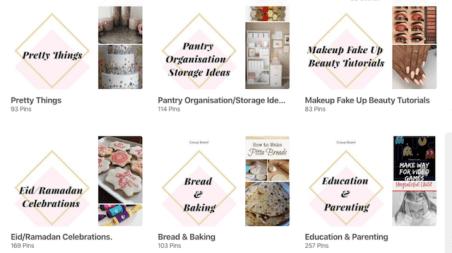 ThrifDeeDubai Pinterest Profile Branding Consistency