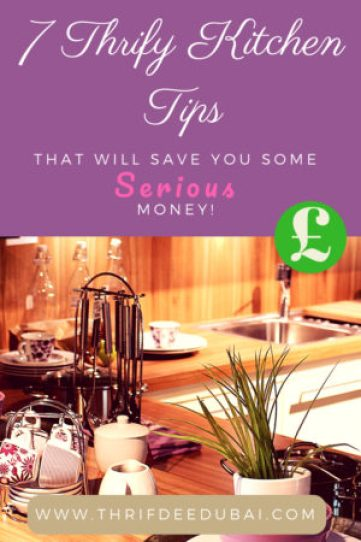 Thrifty Serious Money Saving Kitchen Tips Life Hacks Family Lifestyle