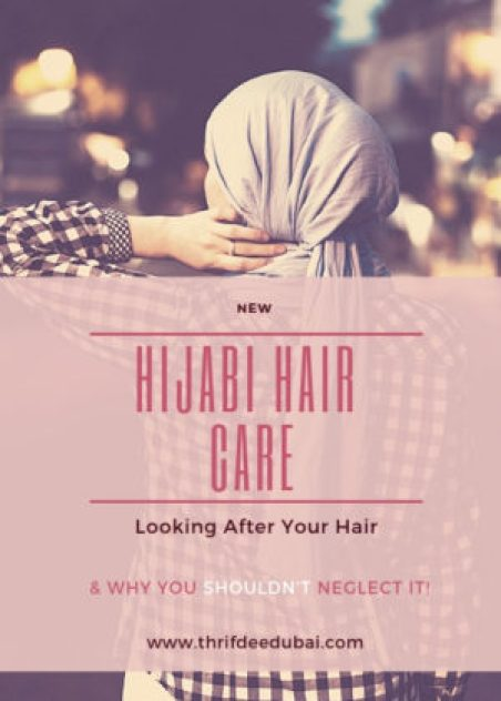 Hijab Hair Care Hijabi Muslim Muslimah Haircare Islam Revert Style Beauty Thrifdeedubai