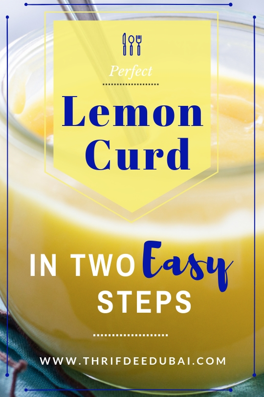 Delicious Home Made luscious, zesty, creamy & smooth Lemon Curd Recipe
