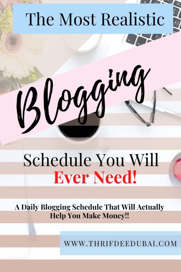A Blogging Schedule That Will Actually Help You Make Money! Don't worry if you aren't a blogger, most of these tasks will apply to any type of website.
