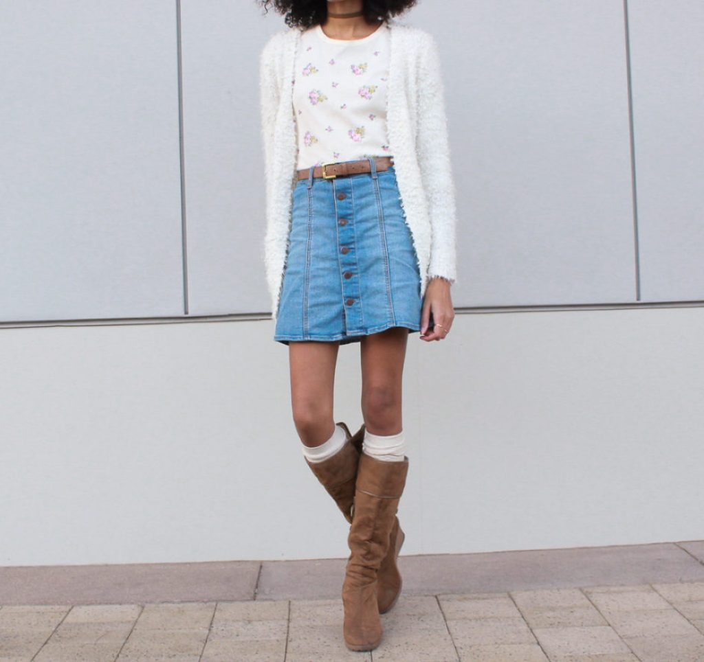 cardigan-skirt-outfit