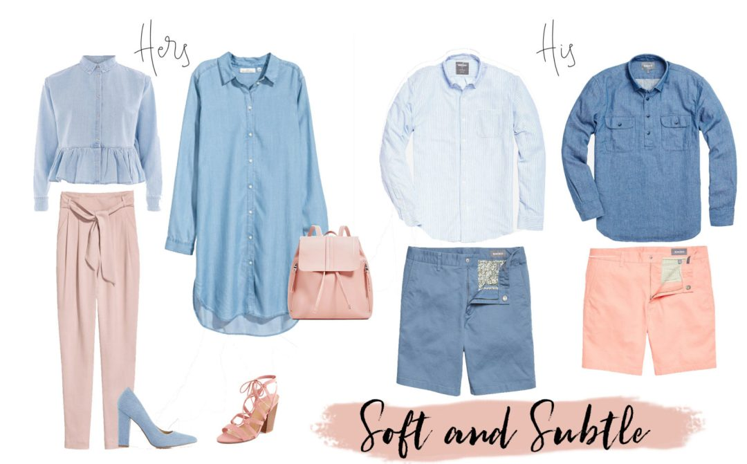his-and-her-light-blue-and-blush-outfits