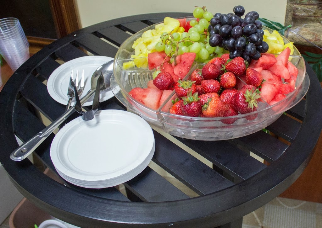 fruit tray for clothing swap party