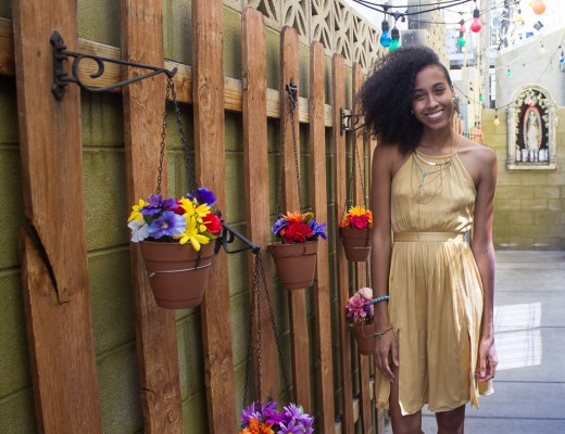 Thrifted Yellow Dress