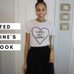 thrifted valentine's day lookbook