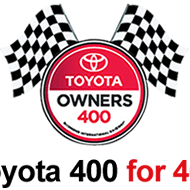 Toyota 400 for 400 Instant Win Game ends 4/30