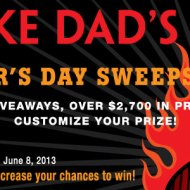 Kansas City Steak Father's Day Sweepsteaks ends 6/8