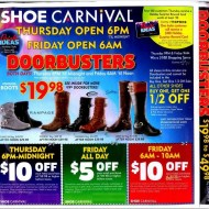 Shoe Carnival Black Friday Deals