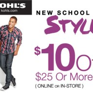 $10 Off at Kohls