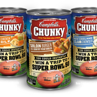 Campbell's Chunky Super Bowl 50 Instant Win Game ends 2/8