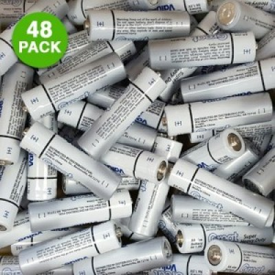 48 - Pack of Great Value Alkaline Batteries AA or AAA ONLY $5.99