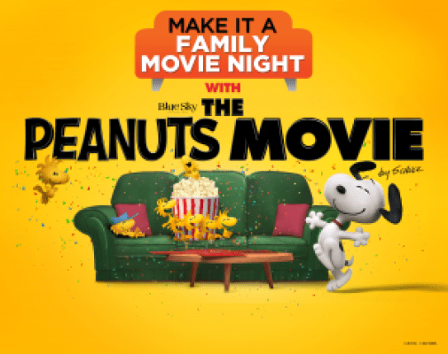 Peanuts Movie Combo Pack Giveaway