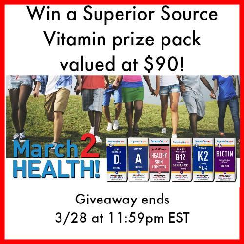 Superior Source Vitamin Giveaway