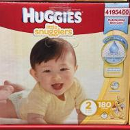 I Saved at Sam's Club on Huggies Little Snugglers #SecondHug