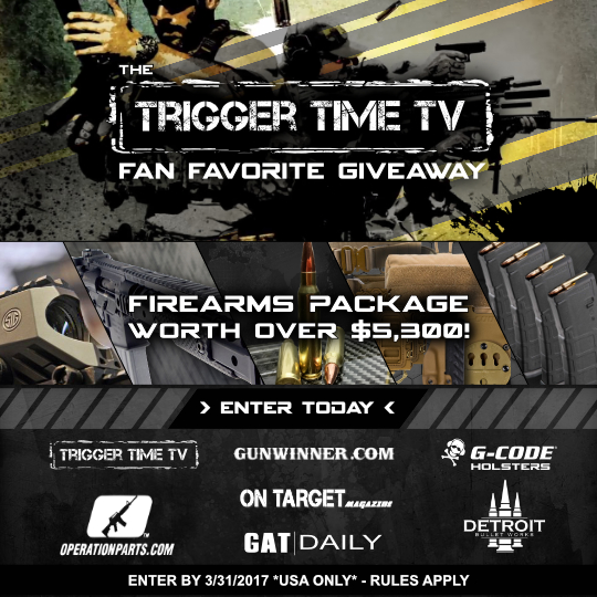 Trigger Time TV Fan Favorite Giveaway