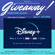 Enter to win a One Year Subscription to Disney Plus