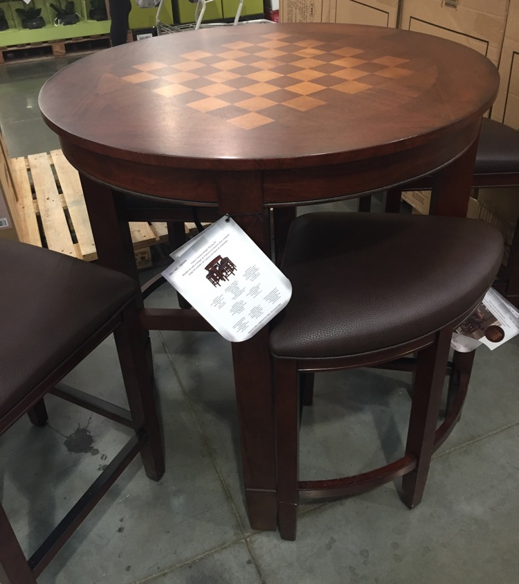 [chess table and chairs set]
