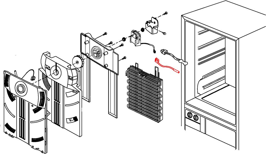 DA32-10105R DA32-00006W Samsung Defrost Sensor Replacement