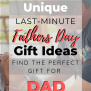 Unique Last Minute Fathers Day Gift Ideas 2019 Gifts For