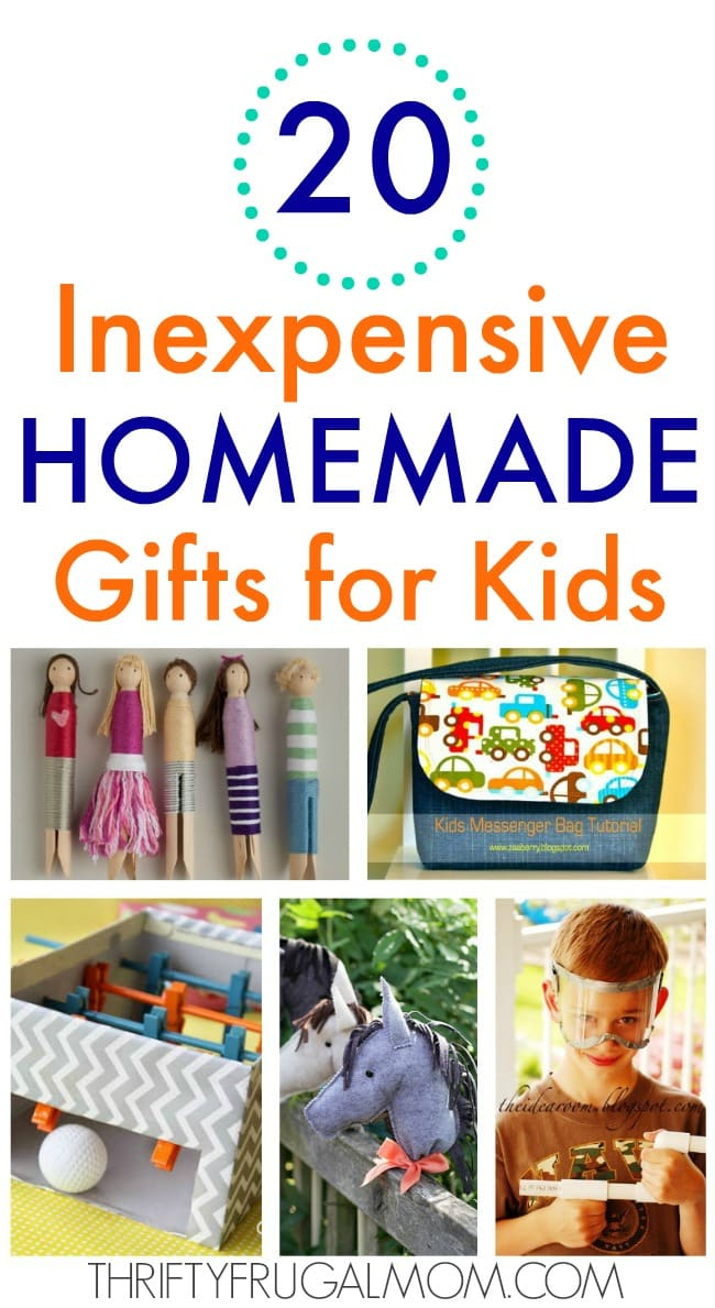 20 inexpensive homemade gifts