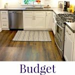 Budget Friendly Classic White Kitchen Remodel All The Details Thrifty Frugal Mom