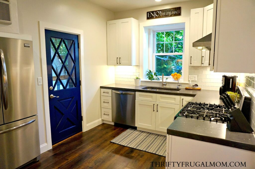 kitchen on a budget handicap accessible kitchens friendly classic white remodel all the details navy and ideas