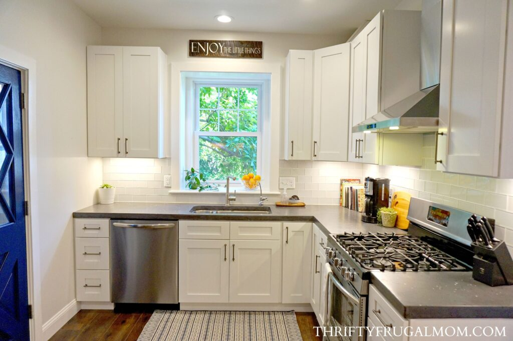 kitchen rehab island storage 8 ways we saved big on our frugal remodel easy that money