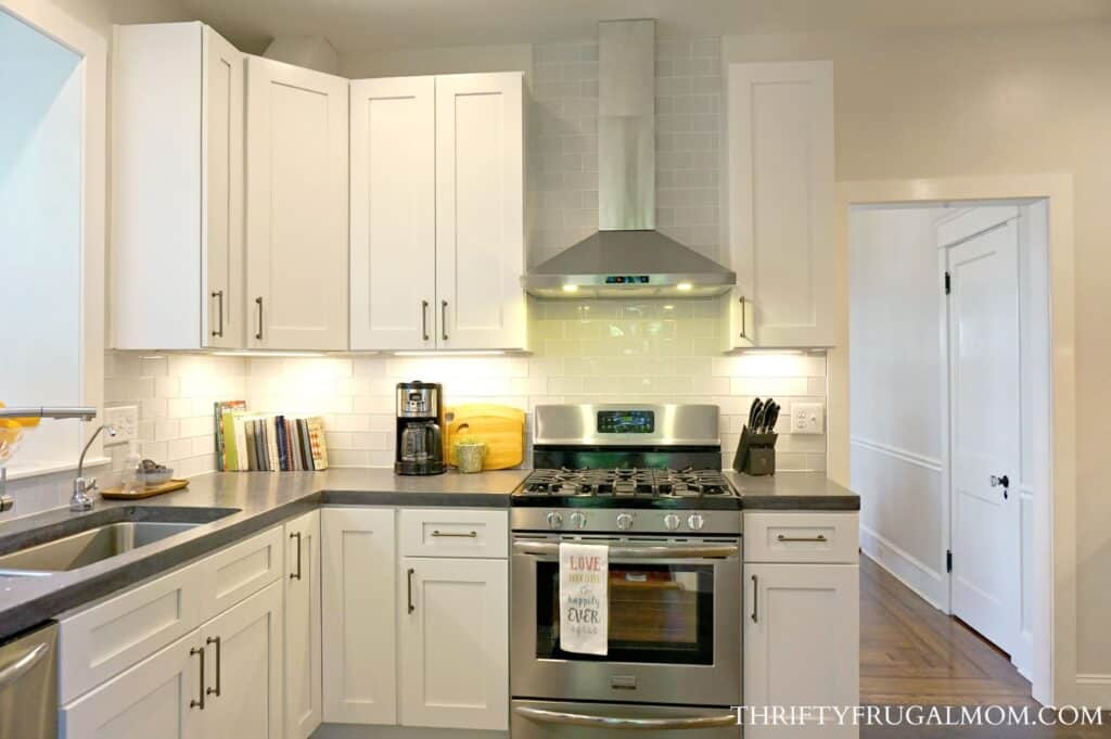 remodel kitchens delta savile stainless 1 handle pull down kitchen faucet 8 ways we saved big on our frugal